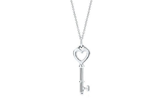 Key to My Heart 925 Sterling Silver Plated Necklace - $17 with FREE Shipping!